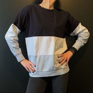 Don't Ask Why AE Colour Block Sweatshirt O/S